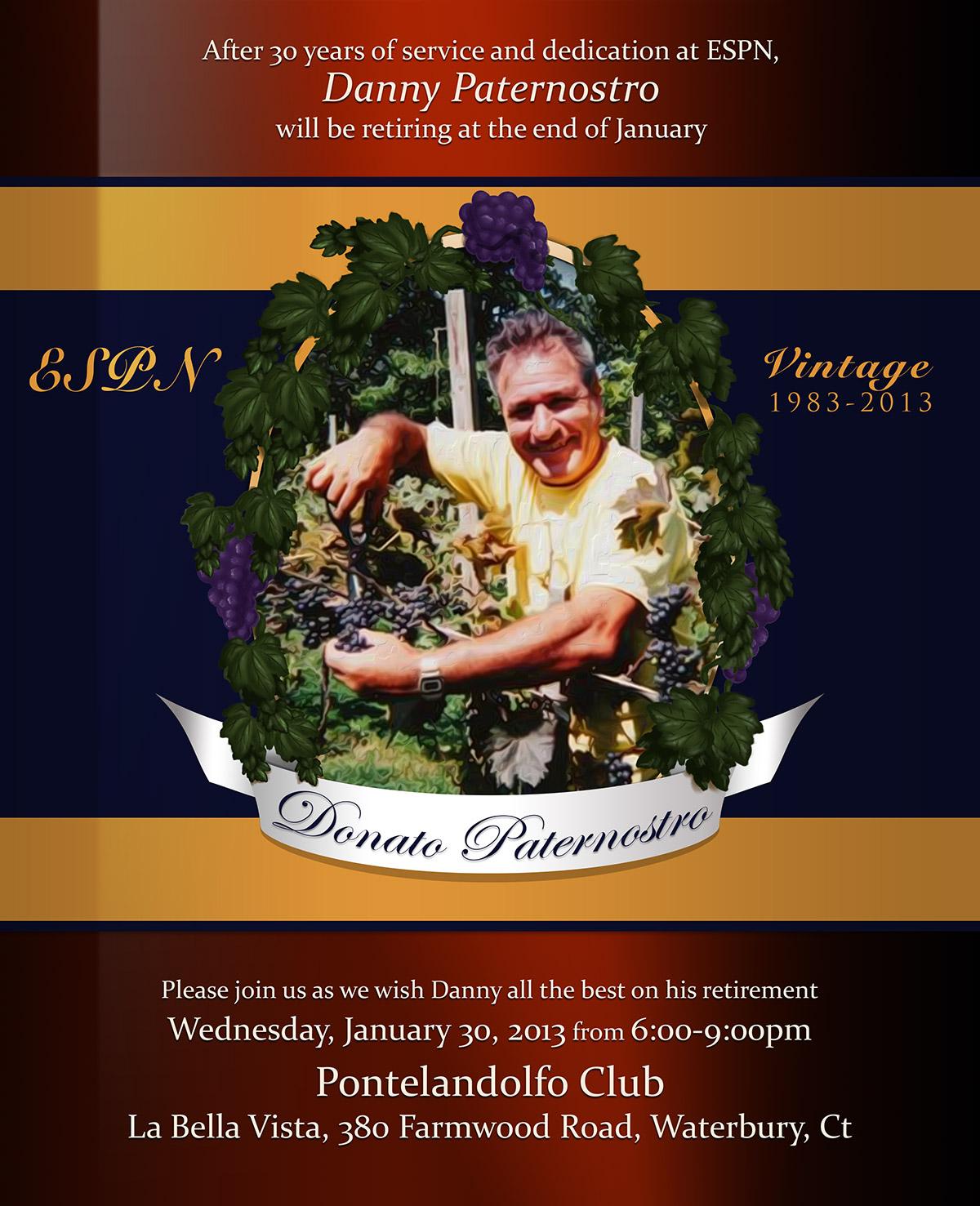 Dan Pat Retirement Poster