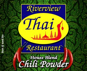 Riverview Thai: House Blend Chili Powder